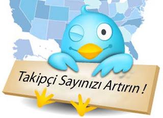 Twitter Takip�isi Al